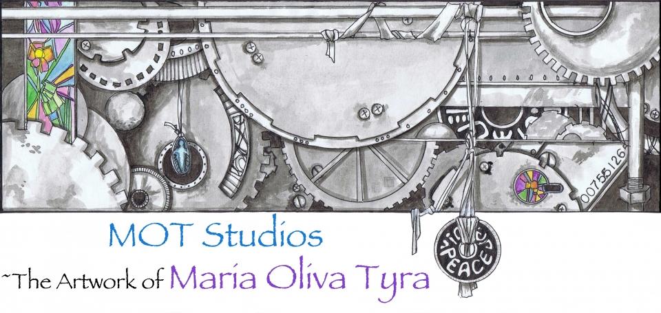 MOT Studios-the Artwork of Maria Oliva Tyra Banner