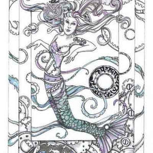 Mermaid in Steampunk'd waters